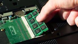 HARD DRIVE SSD & RAM UPGRADE - PC LAPTOP MACBOOK IMAC - APPLE WINDOWS COMPUTER OS INSTALLATION