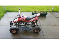 Kids 50cc quad running with parts and engines