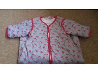 Jojo sleeping bags 6-18 months lovely flower design excellent condition