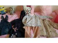 Girls clothes size 6/7