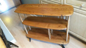 Vintage Ercol room divider / shelves