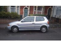 Tired VW Polo for quick sale