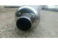Micron slip on exhaust with built in baffle, collection only