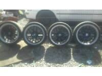 Vw golf bora audi a a3 5x100 alloy wheels