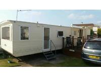Static caravan for hire in Brean, Somerset