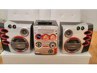 Philips FW M589 CD Player MP3 USB Hi Power Hifi Sound System