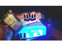 UV NAIL LAMP SET