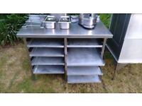 Selection Of Chip Shop Catering Equipment and Shelving