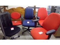Selection of OFFICE CHAIRS tilt & lift £20 each STALYBRIDGE SK15 2PT Local delivery for an extra £5