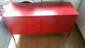 Ikea ps metal locker cabinet/tv unit
