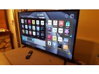 LUXOR 55-inch SUPER Smart 4K UHD LED TV,built in Wifi,Freeview & Freesat HD,fully working
