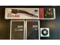 AKAI EWI USB ELECTRONIC WIND INSTRUMENT IN BOX AND IN EXCELLENT CONDITION