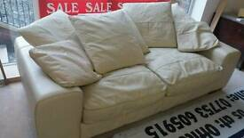3 seater leather sofa no.12