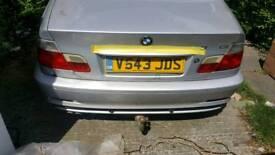 BMW e46 coupe towbar