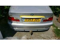 BMW e46 coupe towbar