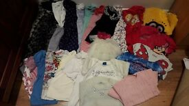4-5 years girls clothes bundle