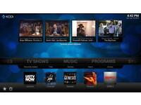 Amazon fire tv stick with KODI full installed