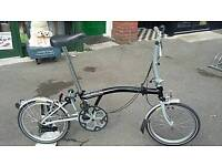 Brompton Folding bike M2L