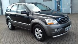 KIA SORENTO 2,5 CRDI XE MANUAL.2008. *** RECENTLY RAC INSPECTED ***.