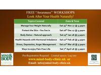 Free Health Workshops