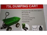 Plastic Tipper Cart