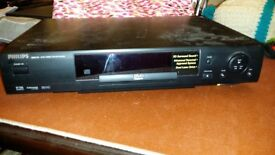 Philips 711 DVD Player/Video CD Player/ CD Player