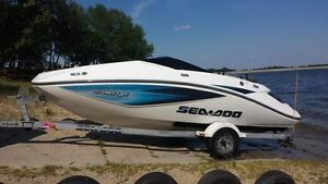 2005 Sea Doo Challenger 180 TC w/trailer