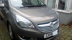 Vauxhall Meriva 5 Door MPV. 1.4 S Line model in perfect condition, Low mileage