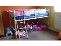 Midi sleeper. Bed frame and ladder.