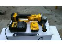 "Dewalt XR Cordless 5"" Angle Grinder in VERY GOOD Condition"