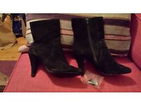 Ladies Next suede boots size 7