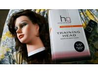 Hairdressing dolls training head