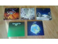 5 x cds - yes - ultimate / relayer / tales / fragile / close to the edge