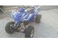 2007 YAMAHA RAPTOR 350 ROAD LEGAL QUAD