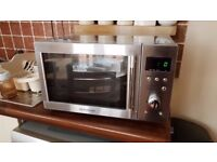 Daewoo microwave oven 800W, 20L, stainless steel, never used