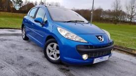 PEUGEOT 207 1.4 16V SE 5dr 1 Yrs Mot&Serviced+Warranted A Nice Looking Car (blue) 2008