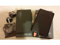 Google Nexus 7 32GB, Wi-Fi, 7in - Black, immaculate condition, 1st gen