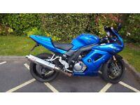 SV650S SK9 2010 reg - 20,673miles - £2,600 ono. Ideal A2 motorcycle. MOT till May 2019