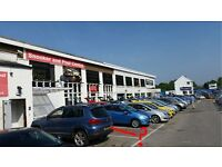 Car Show Rooms and Snooker Hall Cardiff for 90 vehicles VACANT POSSESSION- £545,000 or close