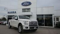 2016 Ford F-150 *NEW* SUPER CREW PLATINUM*700A* 4X4 5.0L V8 GAS
