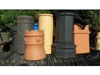 700 NEW half price chimney pots