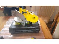 Dewalt DC390 XRP 18v Cordless Circular Saw with good blade and rip fence (Bare) see photos & details