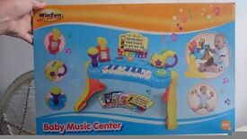 Baby first music centre brand new in box