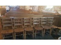Church - Chapel Chairs from St Andrews Scotland, Eight available
