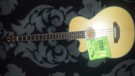 Crafter semi acoustic cutaway with equaliser