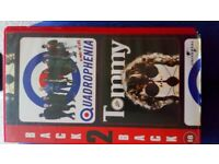 Quadrophenia /Tommy VHS for sale  Irvine, North Ayrshire