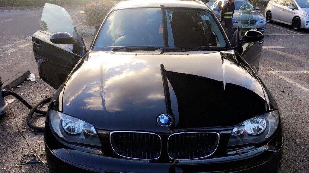 BMW 1 Series 2008, Manual, 3 Door, Petrol, Black, LOW MILEAGE 69K ...