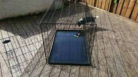 Dog cage 120x80x75
