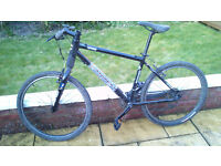 Cannondale F500 mountain bike 2002. New chain and sprockets in 2013.