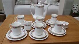 Vintage Paragon Belinda Fine Bone China 21 Piece Coffee Set